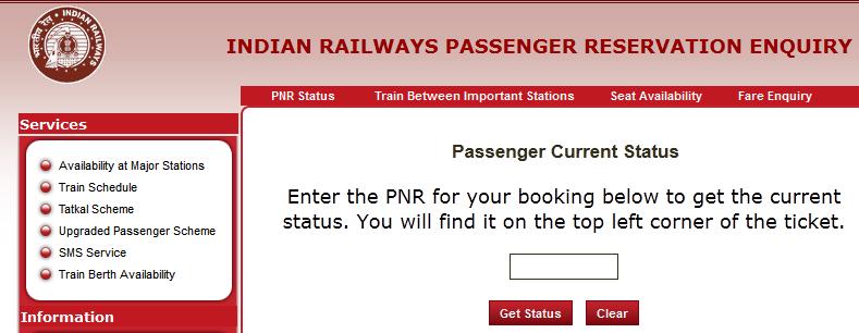 how-to-check-pnr-status-through-indian-railways-website
