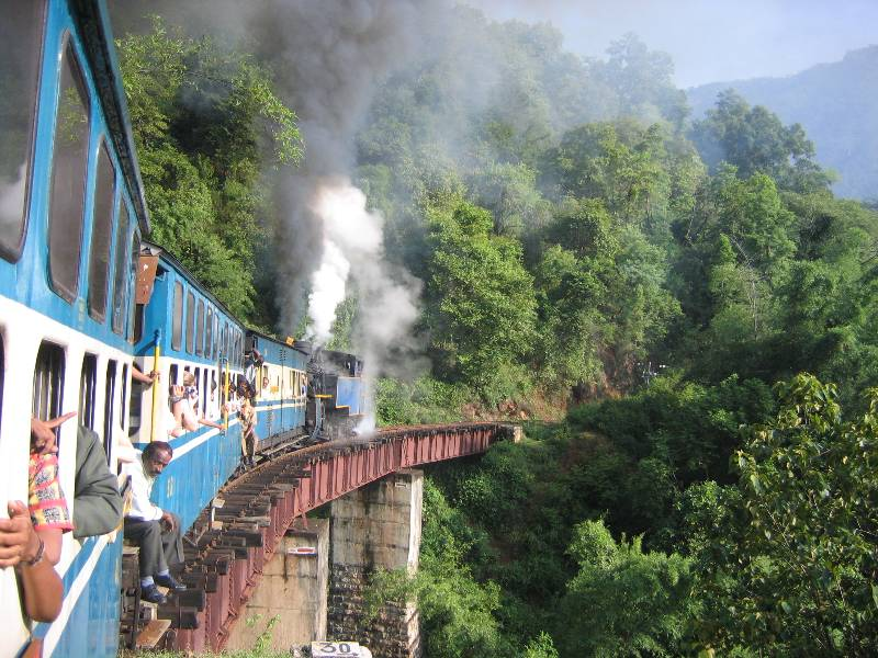 UNESCO World Heritage Nilgiri_Mountain_Train