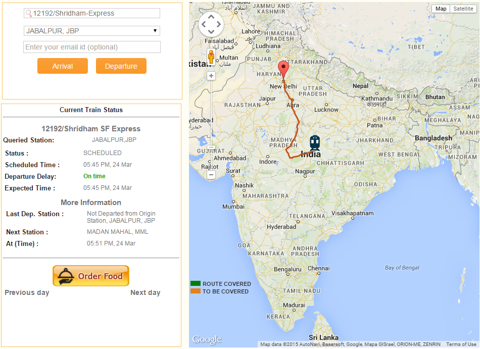 current location of train on map Spoturtrain Running Status Live On Google Map current location of train on map