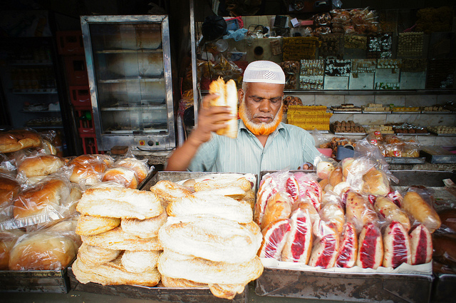 Local bakery in Hyderabad