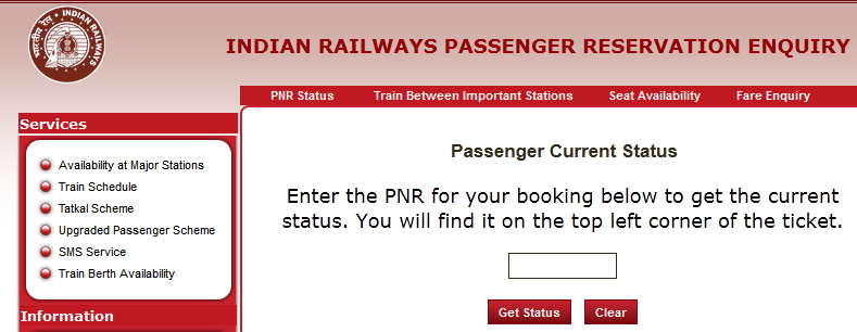 how-to-check-pnr-status-through-indian-railways-website