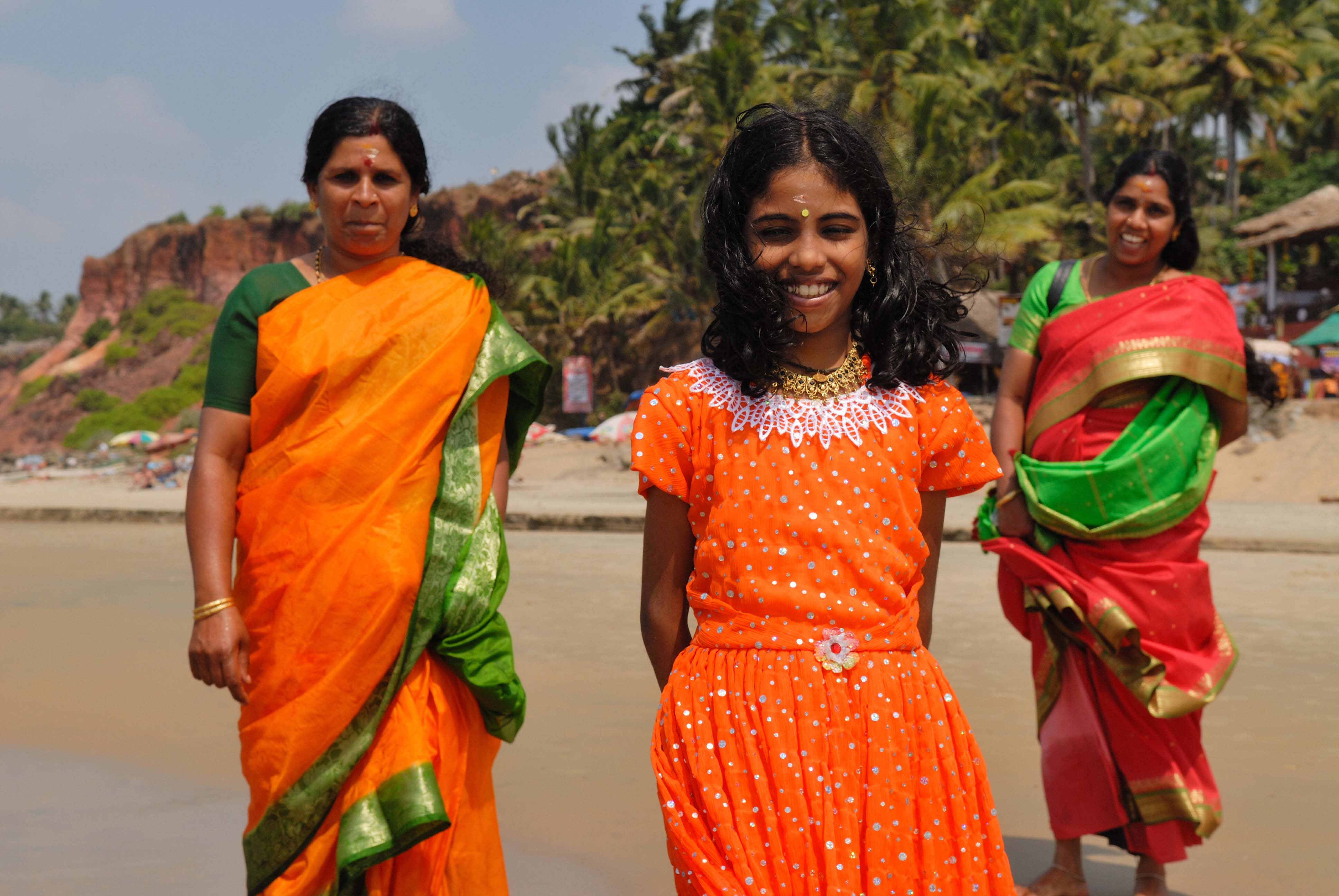 Locals from Varkala
