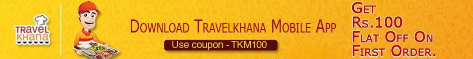 travelkhana as train food provider